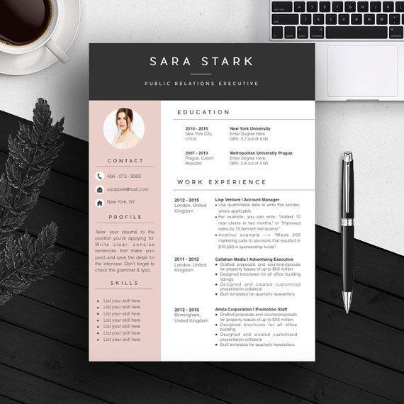 85 Beautiful Free Creative Resume Templates Microsoft Word for Gallery