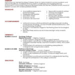 85 Excellent Experienced Teacher Resume Examples with Ideas