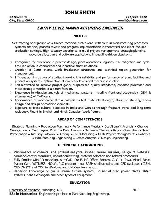 85 Stunning Mechanical Engineer Resume Sample with Images