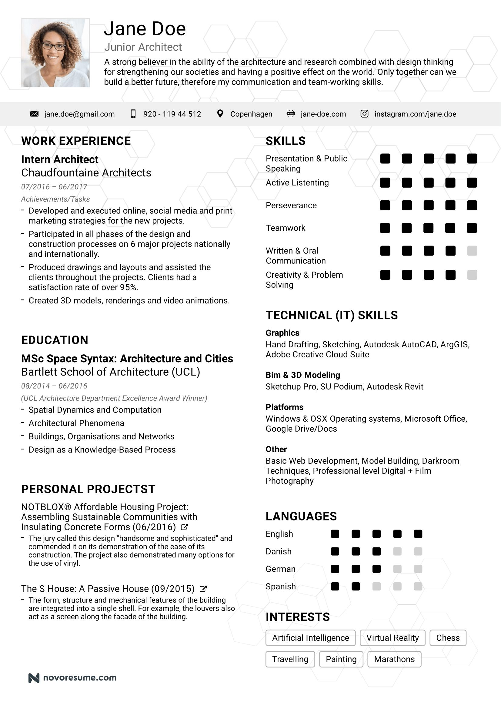 86 Beautiful Basic Resume Format For Job with Ideas