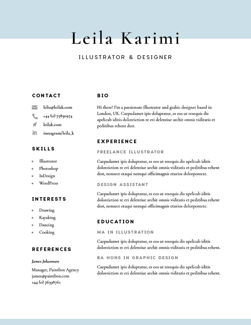 86 Fresh How To Make A Cv with Pictures
