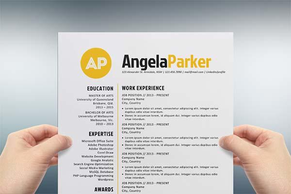 86 Great Free Creative Resume Templates Microsoft Word with Ideas