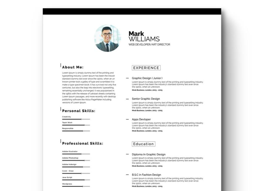 87 New Best Executive Resume Templates 2018 for Graphics