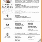 88 Awesome English Cv Template by Images