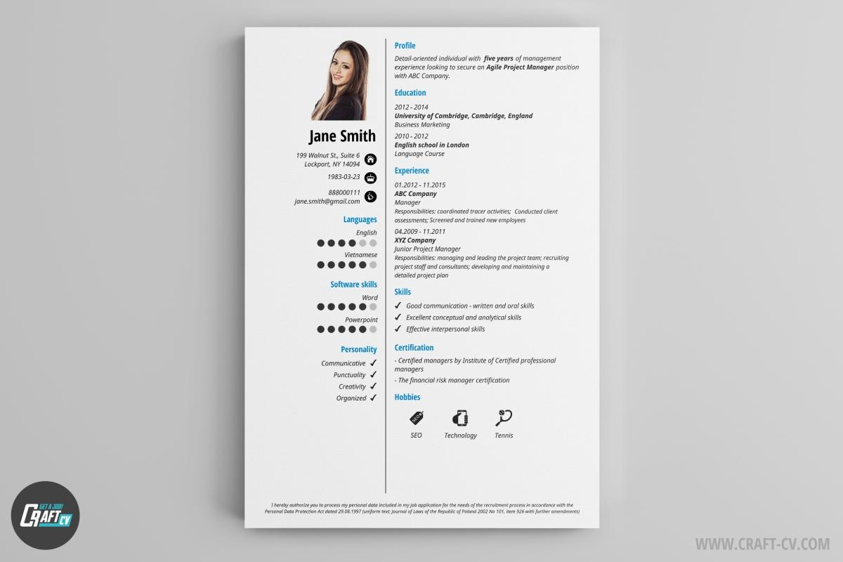 88 Awesome Free Professional Cv Builder with Gallery