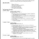 88 Great Teacher Resume Template for Gallery