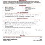 88 Inspirational Experienced Teacher Resume Examples for Gallery