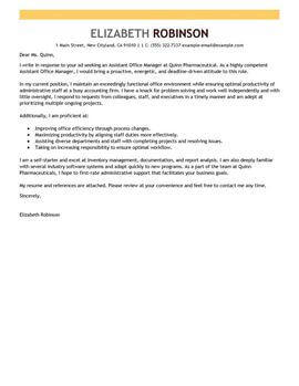88 Nice Administration Cover Letter Sample by Images