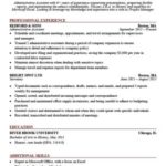 88 Stunning It Professional Resume Templates for Images