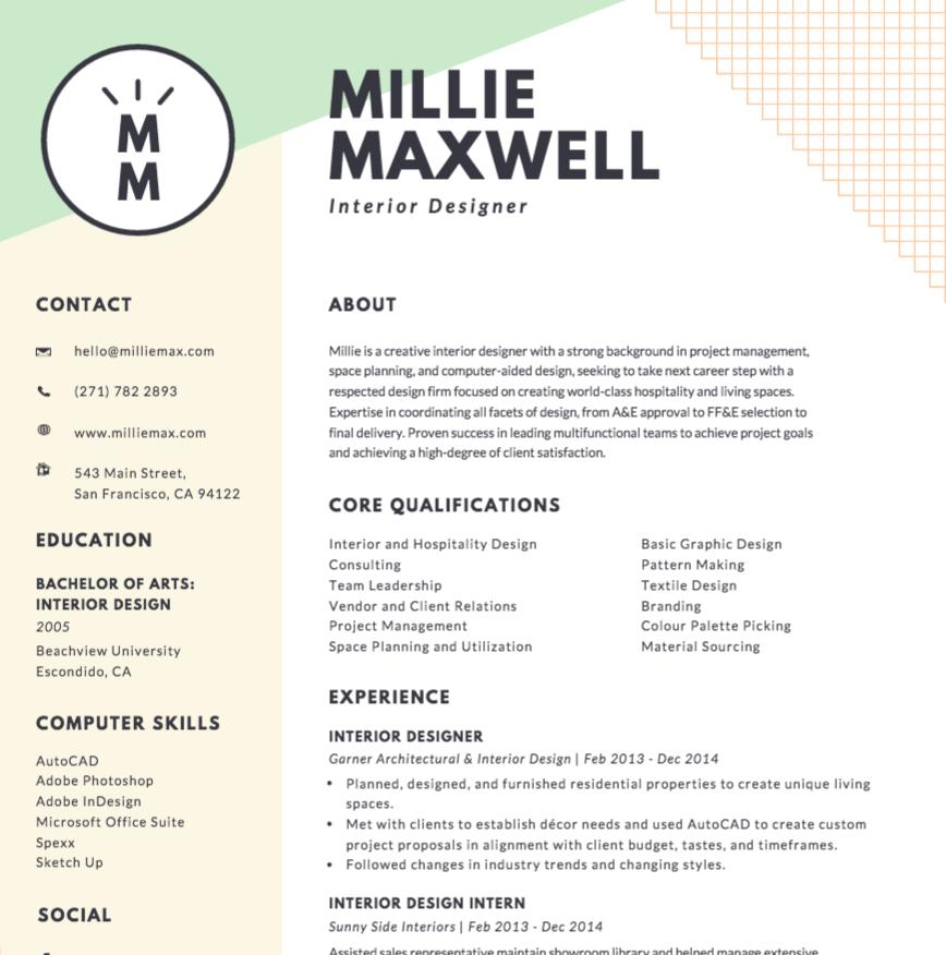 89 Fresh Make Me A Resume Online Free by Graphics
