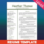 90 Best One Page Cv Template for Design