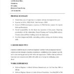 90 Cool Software Engineer Summary Resume for Graphics