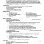 90 Inspirational Sonographer Resume with Gallery