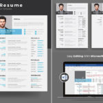 90 New Resume Design Word with Pictures