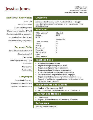 90 Top Free Student Resume Templates with Design