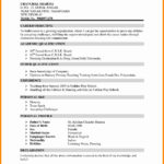90 Top Professional Resume Format for Graphics