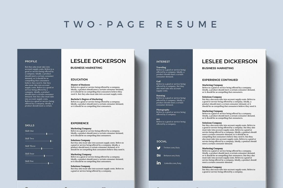 91 Awesome Free Cv Template Download by Pics