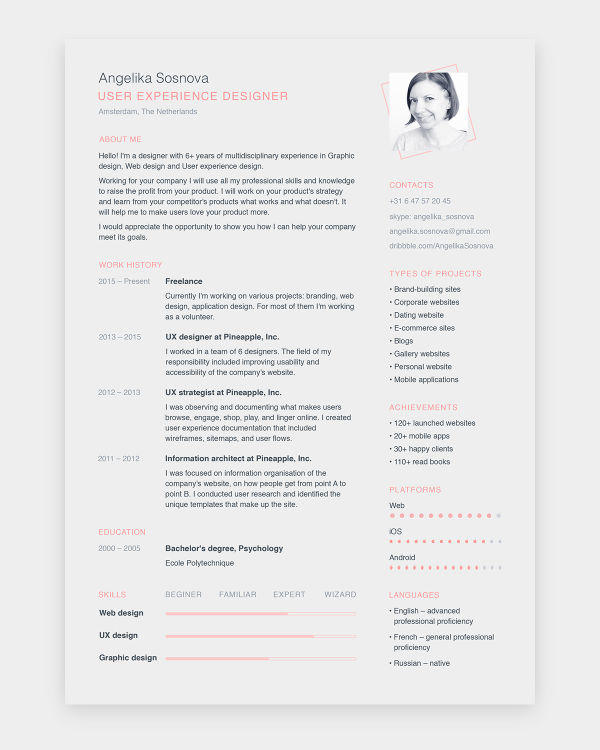91 Fresh Where Can I Get Free Resume Templates with Pics