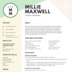 91 New Online Resume Template with Design