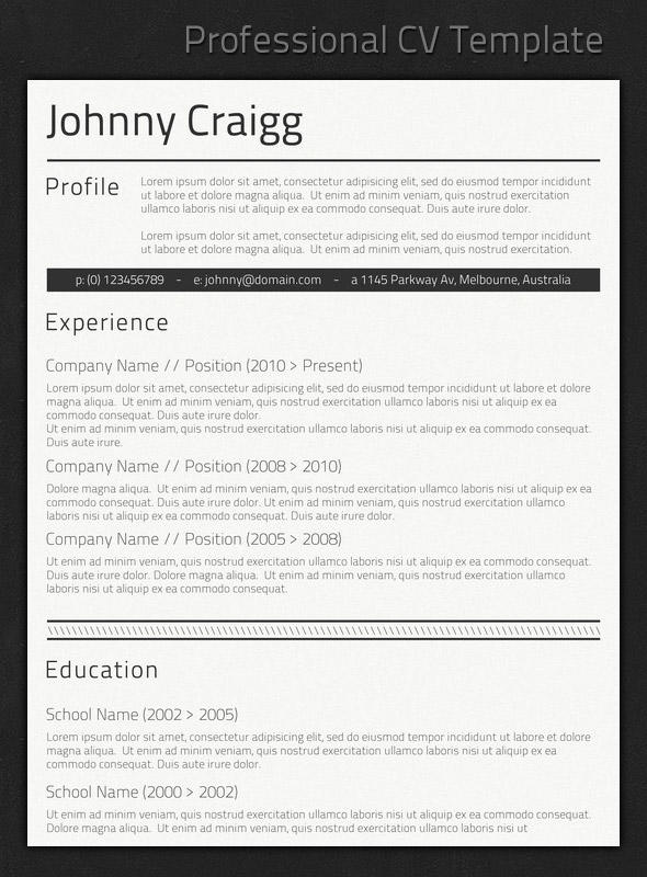 92 Best Great Looking Resume Templates by Ideas