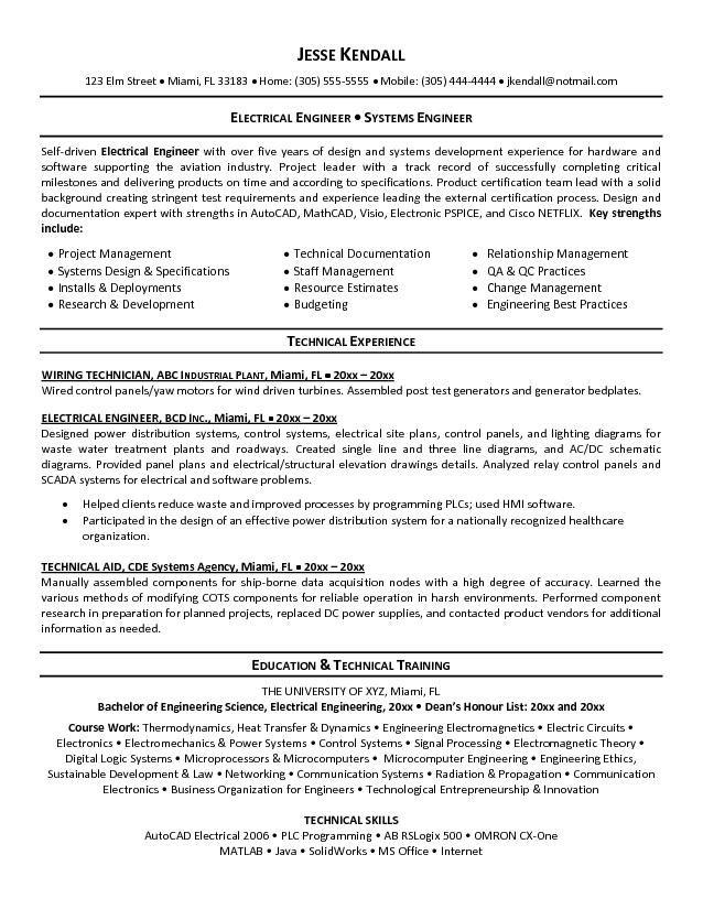 92 Lovely Electrical Engineering Resume Sample For Freshers with Pics