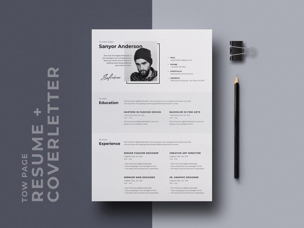 92 Lovely Free Stylish Resume Templates with Ideas