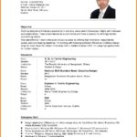 92 Stunning Format Of Resume For Job Pdf by Ideas