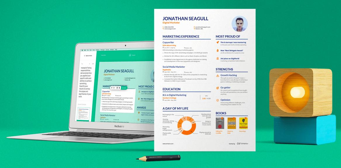 93 Awesome Free Cv Resume Builder for Images