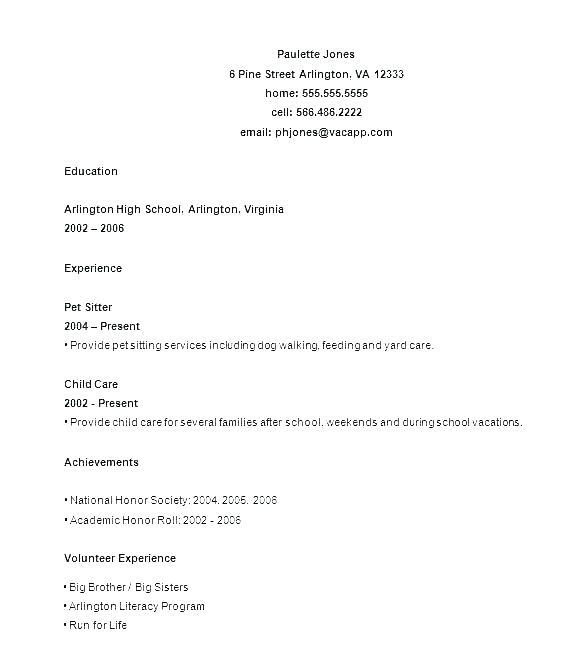 93 Awesome Job Resume Layout with Ideas