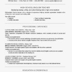 93 New Teacher Resume Template by Pictures