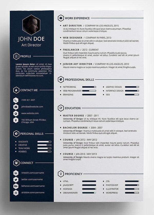 94 Awesome The Best Free Resume Templates for Ideas