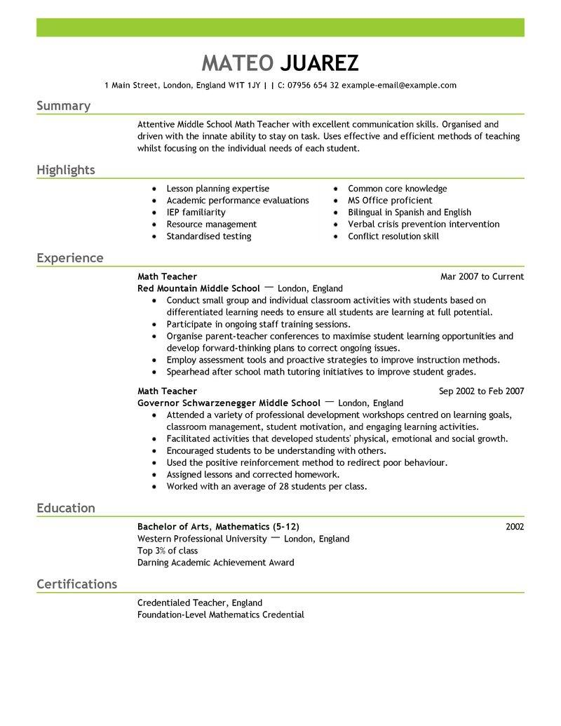 94 Beautiful Us Resume Format by Ideas