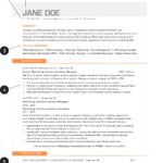 94 Cool Best New Resume Formats by Pics