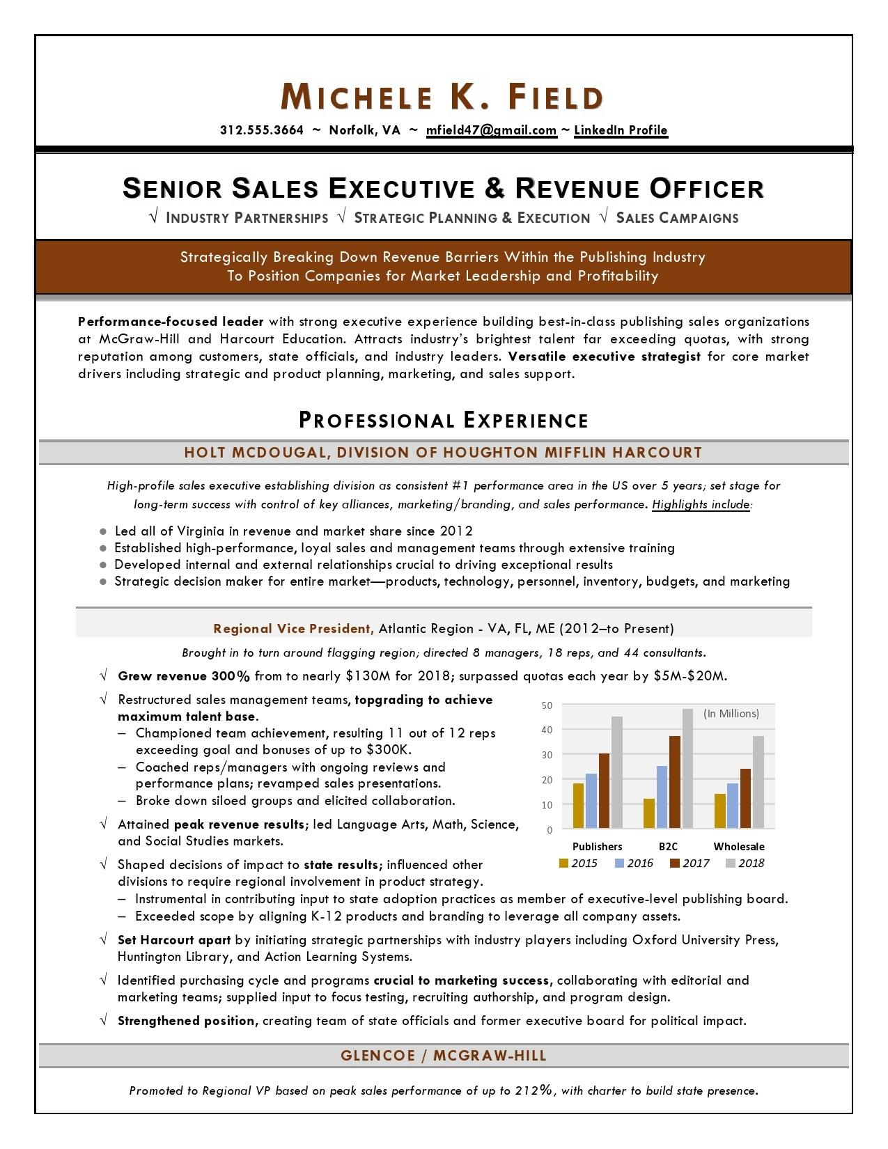 94 Stunning Best Sales Resume Examples 2018 for Gallery