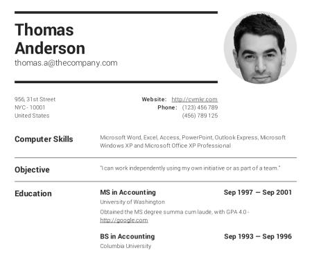 94 Top Where To Make Resume by Ideas