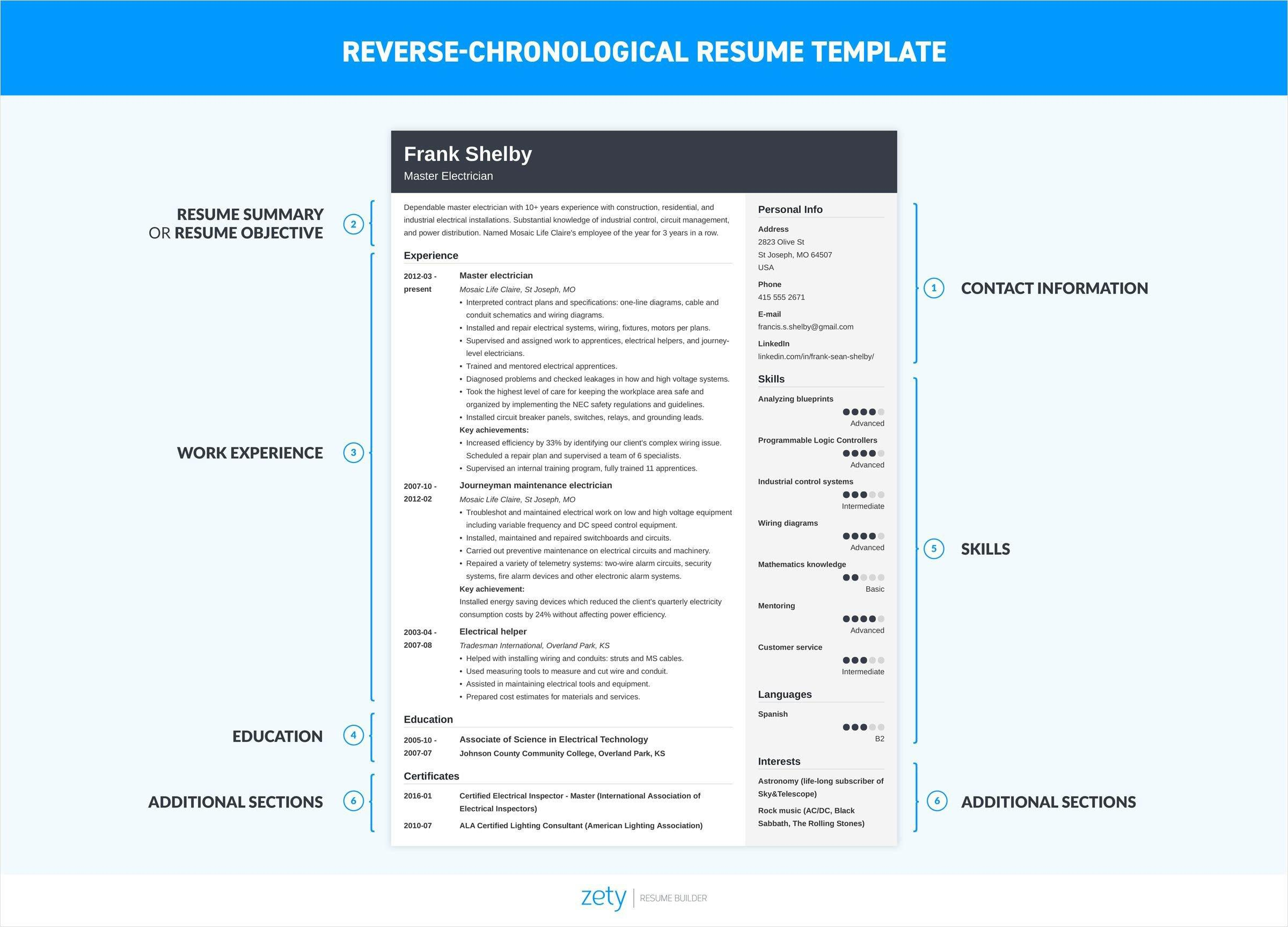 95 Best How To Make A Resume Template by Design