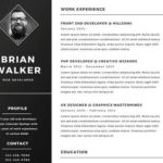 95 Excellent Resume Design Word by Graphics