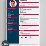 95 Lovely Online Resume Template with Images