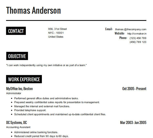 96 Beautiful Make Your Resume Online Free by Graphics