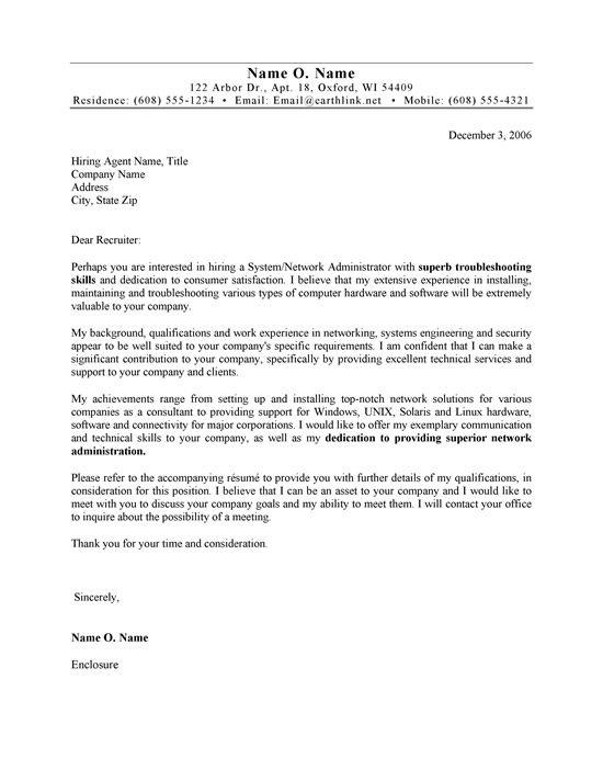 96 Best Administration Cover Letter Sample by Graphics