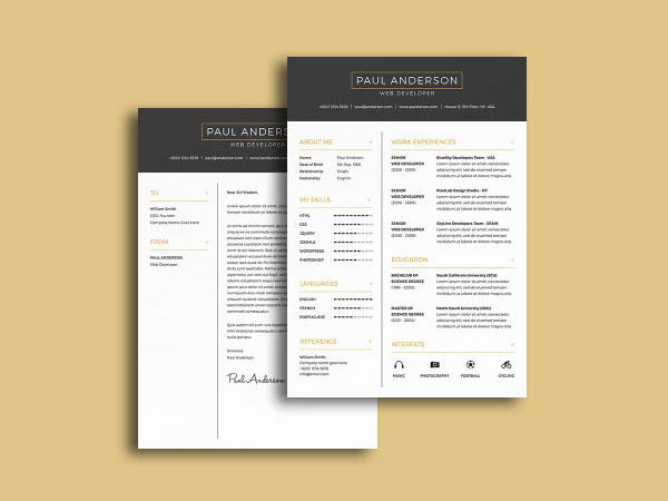 96 Cool Free Cv Template Download with Graphics