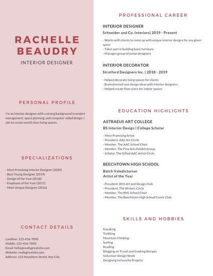 96 Inspirational College Resume Template by Pictures