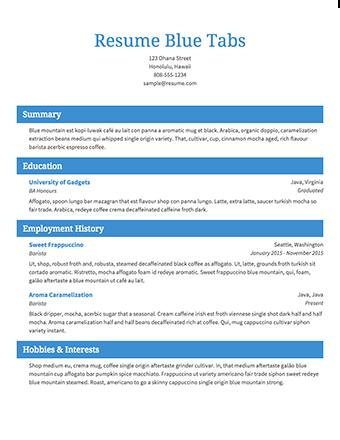 96 Stunning Create Resume Template Free by Pictures