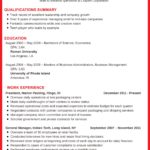 96 Top Good Resume Examples 2019 by Pics