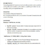 97 Best College Resume Examples with Design
