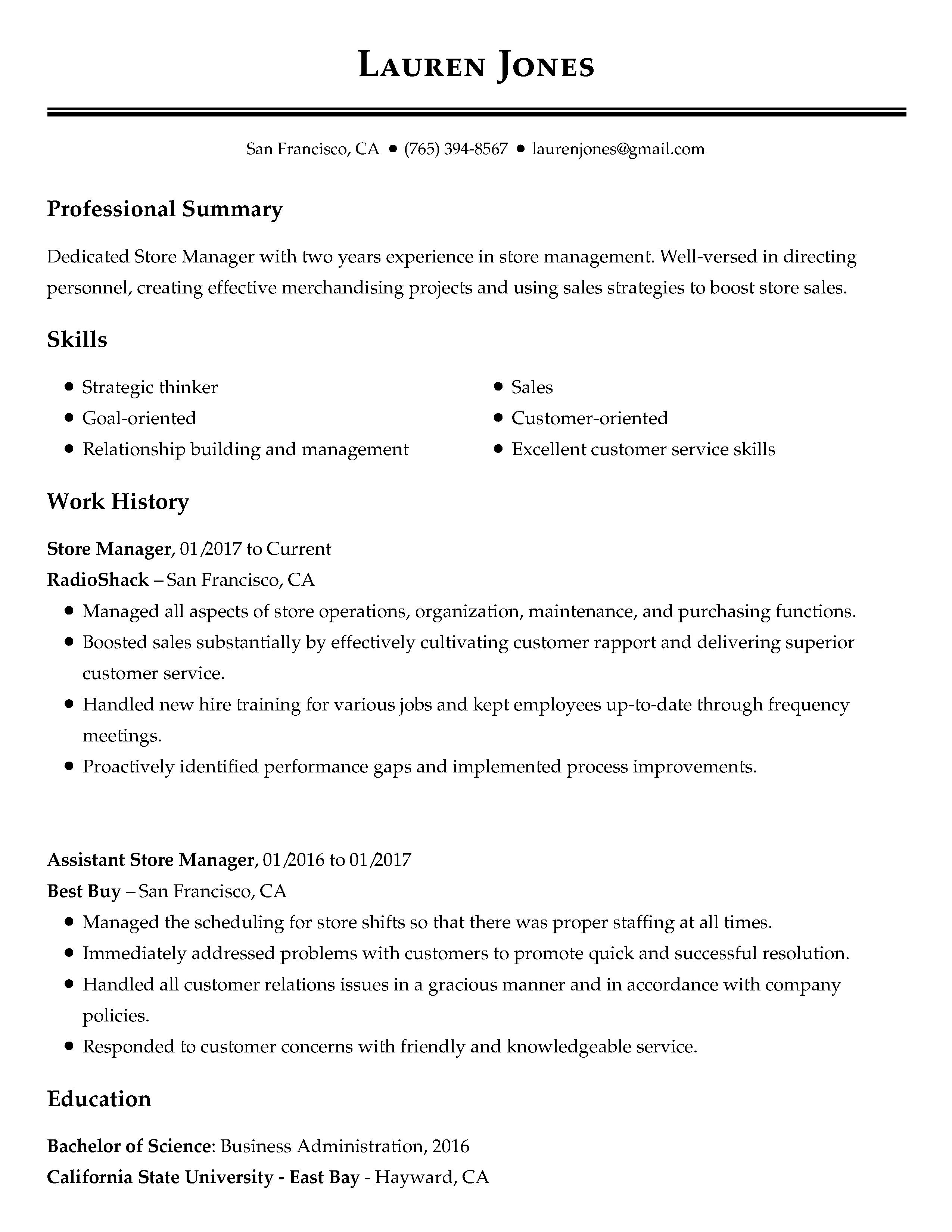 97 Best Resume For Job for Gallery