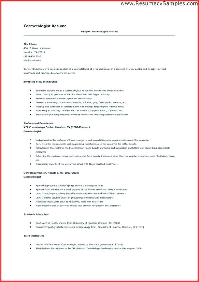 97 Excellent Beauty Advisor Resume by Pictures