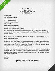 97 Excellent Free Cover Letter Examples for Pictures