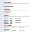 97 Fresh Easy Cv Template Free with Design