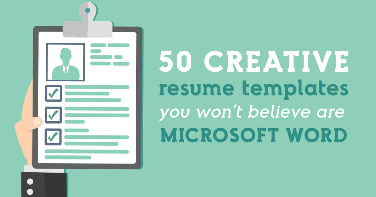 97 Inspirational Free Creative Resume Templates Microsoft Word with Pictures